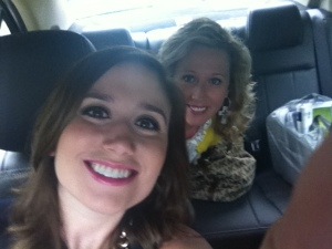 On our way to see Emily Giffin!