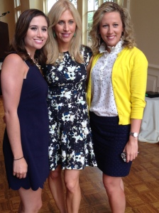 One of our top 2014 moments: meeting Emily Giffin! Great author and speaker!