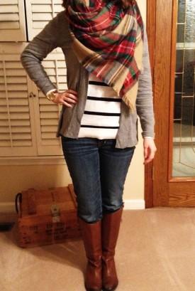 stripes and plaid