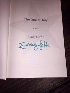 emily giffin autograph